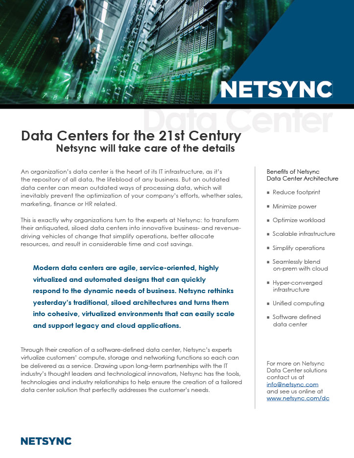 Netsync Data Center Collateral