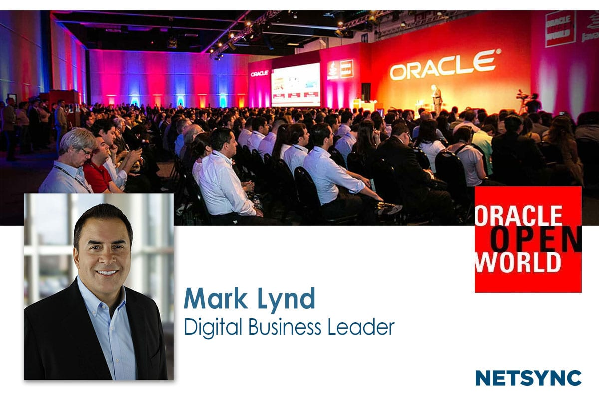 Mark Lynd Speaks to Oracle OpenWorld Attendees